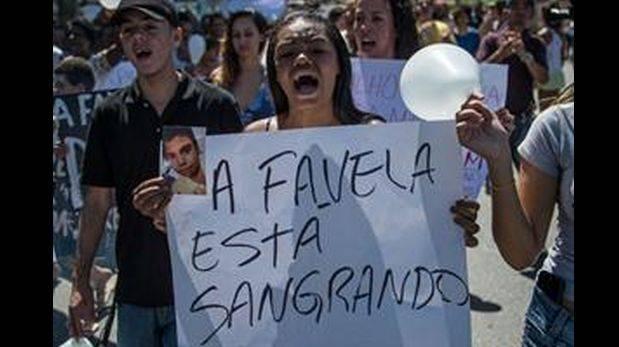 Brasil: Favelas de Río se levantan contra brutalidad policial