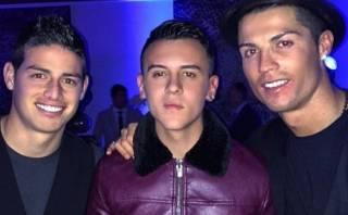 James justificó su presencia en la fiesta de Cristiano Ronaldo