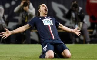 Zlatan Ibrahimovic y una anotación brillante en Copa de Francia