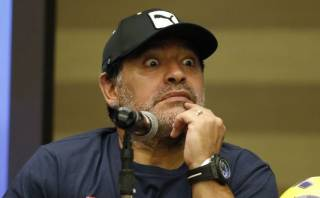 "Diego Maradona calificó de ""corrupto"" a Joseph Blatter"