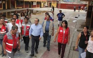 Chosica: colegios vuelven a dar clases desde este lunes 13