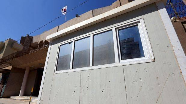 El Estado Islámico ataca la embajada de Corea del Sur en Libia