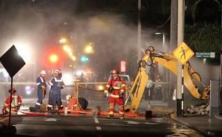 San Isidro: responsables de apagón y fuga de gas escaparon