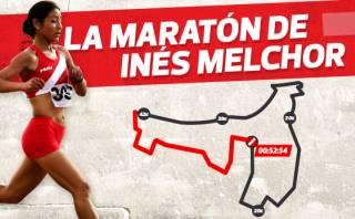 Inés Melchor dice paso a paso cómo ganó la Maratón de Santiago
