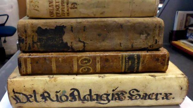 Recuperan libros históricos que iban a ser enviados a Chile