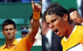 Djokovic venció a Nadal y jugará final de Masters de Montecarlo