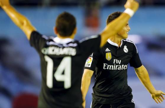 Real Madrid: Chicharito y James, claves en el triunfo merengue