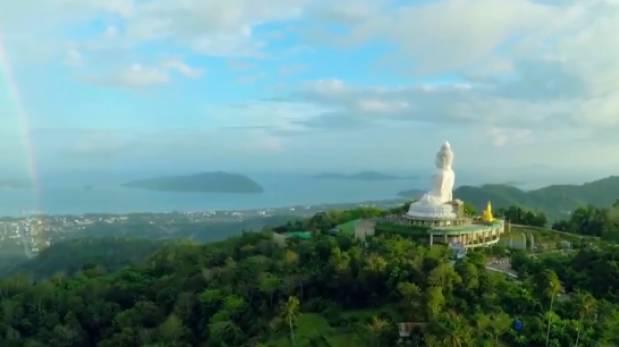 [Video] Drone capta impresionantes imágenes de Tailandia