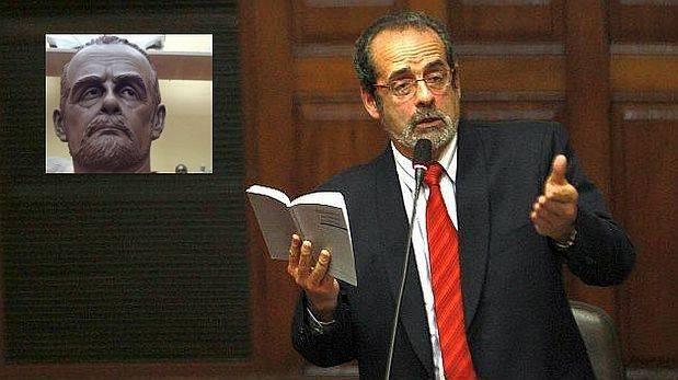Develarán busto del ex congresista Javier Diez Canseco