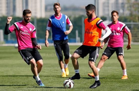 Real Madrid: Gareth Bale volvió a entrenamientos tras lesión