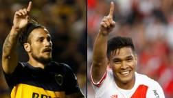 Boca vs. River: Osvaldo y Gutiérrez son los rebeldes del gol