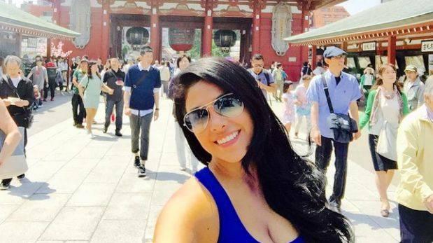 Maricarmen Marín: las fotos de su viaje a Japón