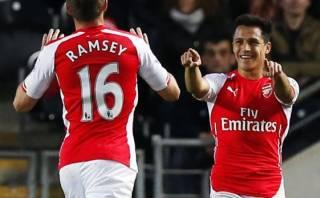 Arsenal: Alexis Sánchez y Aaron Ramsey anotaron en 3-1 al Hull