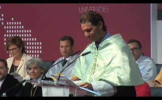 Rafael Nadal, Doctor Honoris Causa en Madrid