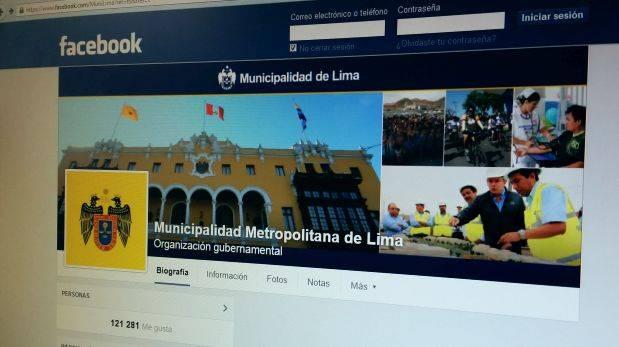 Municipalidad de Lima y bloqueos en Facebook: ¿qué pasó?