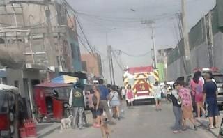 Surco: incendio afectó almacén clandestino en Parque Alto