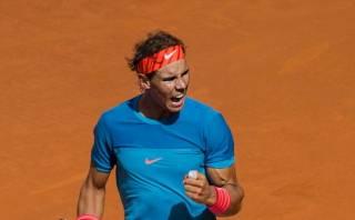 Nadal venció a Dimitrov y pasó a semifinal de Masters de Madrid