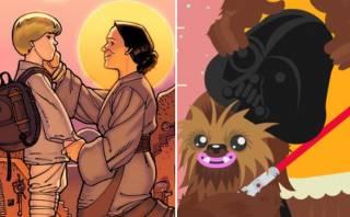 """Facebook: ¿cómo celebra """"Star Wars"""" el Día de la Madre?"""