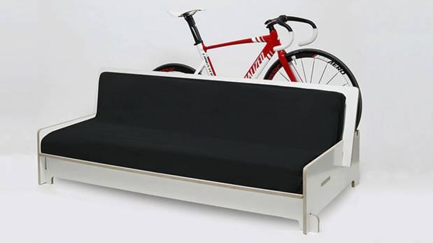 Para ciclistas: coloca tu bicicleta en estos curiosos muebles
