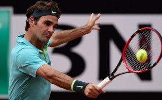 Roger Federer sufrió para ganar y se metió a cuartos de Roma