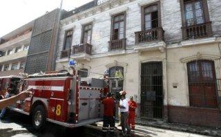 Rímac: vela encendida causó incendio en asilo para ancianos