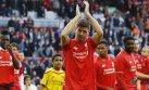 Steven Gerrard y su emotiva despedida del Anfield Road (FOTOS)