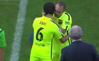 El Calderón ovacionó a Iniesta: lección de fútbol para el mundo