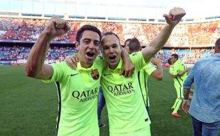 """Iniesta: """"Es un orgullo haber hecho mi carrera al lado de Xavi"""""""