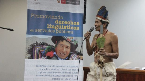 Implementan el primer Registro Civil Bilingüe Awajún
