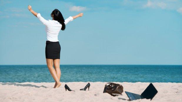 ¿Llena de trabajo? Es el momento ideal para salir de vacaciones