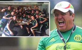 Copa América: Miguel Herrera arengó a su selección mexicana