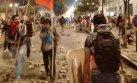 Violenta protesta en Cercado de Lima por proyecto Tía María