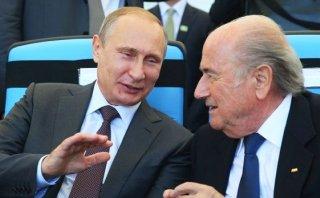 FIFA: Putin felicita a Joseph Blatter por su reelección