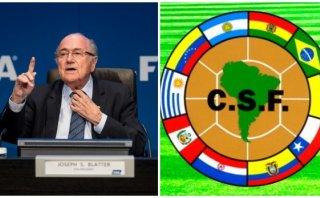 Blatter confirmó que Sudamérica mantendrá cupos para el Mundial
