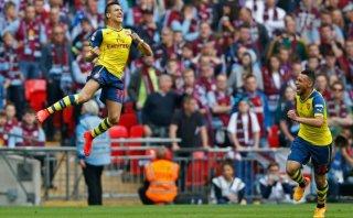 Arsenal: Alexis Sánchez anotó genial gol en la final de FA Cup