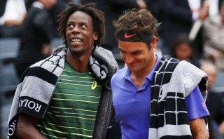 Roland Garros: partido Federer-Monfils se aplazó por lluvias