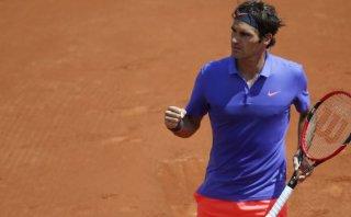 Federer venció a Monfils y avanzó a cuartos de Roland Garros
