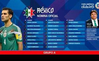 Copa América: Rafa Márquez encabeza lista final de México