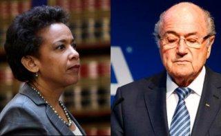 """Loretta Lynch: """"La FIFA es corrupta hasta en su más alto nivel"""""""