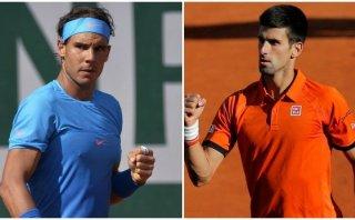 Novak Djokovic ganó a Rafael Nadal en cuartos de Roland Garros