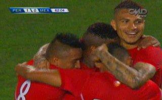 Perú vs. México: Farfán marcó el 1-0 para la selección (VIDEO)