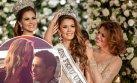 Laura Spoya responde a críticas por su elección como Miss Perú