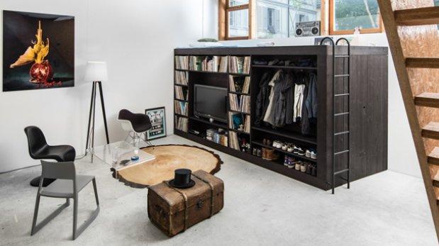 Living Cube, el mueble funcional que te hará ahorrar espacio | Ideas ...