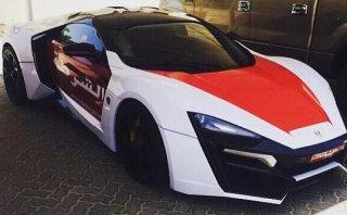 Lykan Hypersport, la nueva joya de la Policía de Abu Dhabi