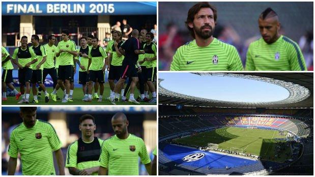 Champions League: así se vivió el día previo a la final