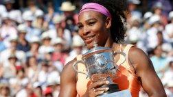 Serena Williams venció a Safarova y se coronó en Roland Garros
