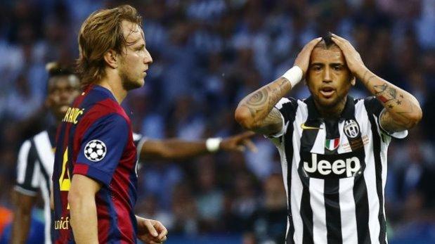 Barcelona-Juventus: ¿Dos penales no pitados en primer tiempo?