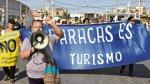 Protesta suspendió audiencia sobre obras en puerto de Paracas - Noticias de terminal portuario de paracas
