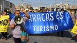 Paracas protestó contra obras en puerto [FOTOS] - Noticias de terminal portuario de paracas