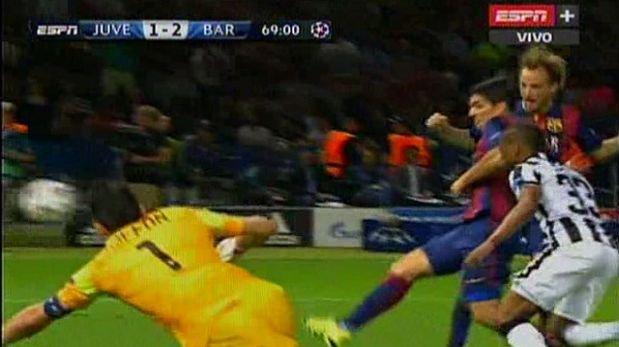 Barcelona: Luis Suárez marcó segundo gol ante Juventus (VIDEO)